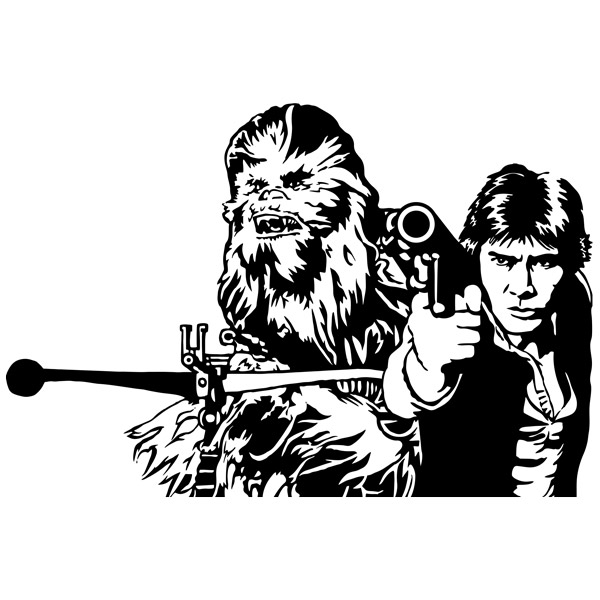 Wall stickers and jpg. Chewbacca clipart han solo chewbacca