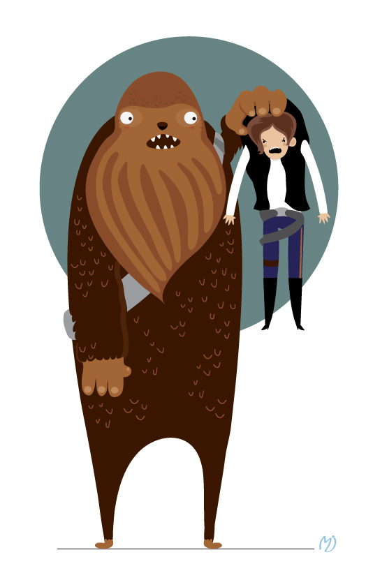 And by mjdaluz on. Chewbacca clipart han solo chewbacca