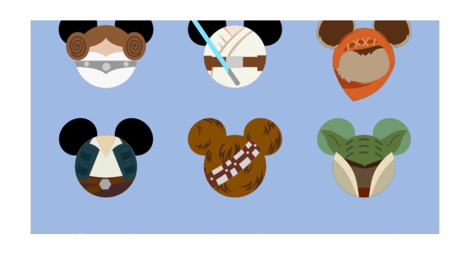 Luke skywalker han solo. Chewbacca clipart head