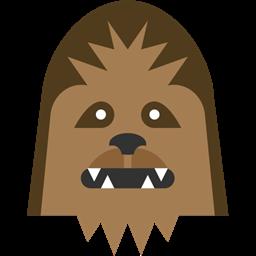 Icon size. Chewbacca clipart head