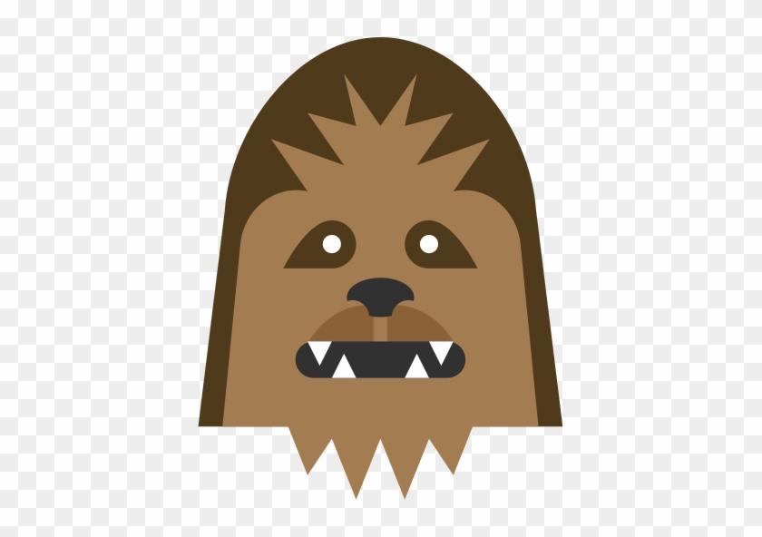 Star wars icon free. Chewbacca clipart head