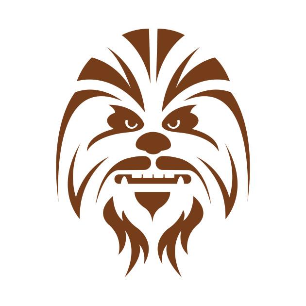 Chewbacca clipart head. Star wars phone case