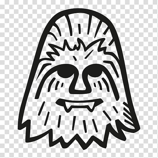 Chewbacca clipart outline. Computer icons character others