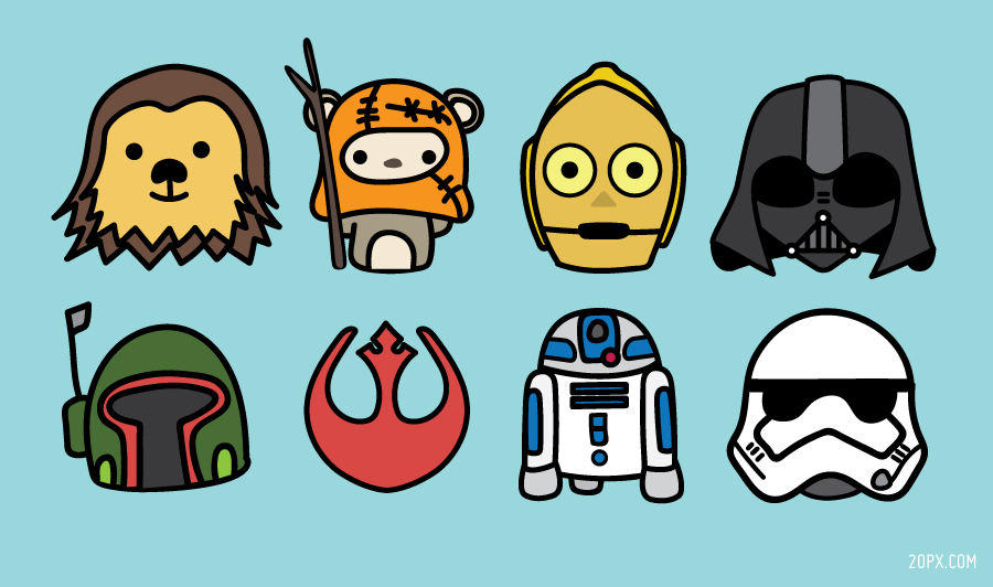 Chewbacca clipart pixel art. Star wars px twenty