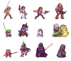 Chewbacca clipart pixel art. Joseph gribbin on fanart