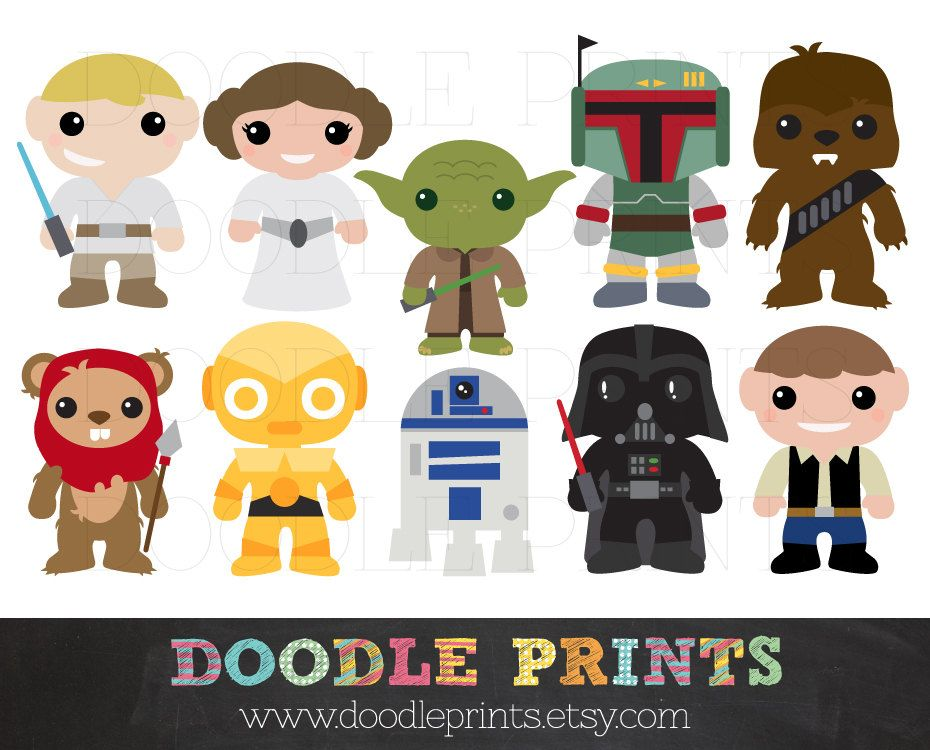 Request a custom order. Chewbacca clipart printable