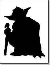 Chewbacca clipart silhouette.  views cricut die