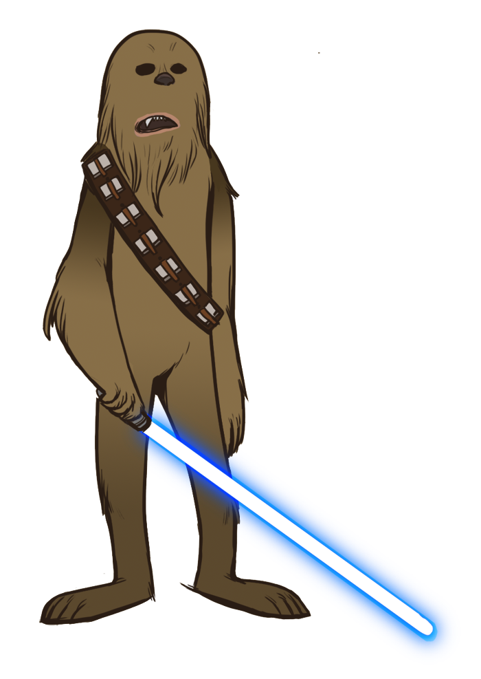 Free cliparts download clip. Chewbacca clipart simple