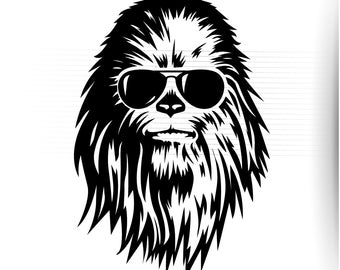 Chewbacca clipart simple. Download for free png
