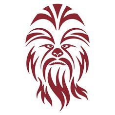 Cuttable designs cricut pinterest. Chewbacca clipart svg