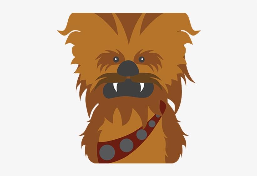 Chewbacca clipart transparent background. Star wars clip