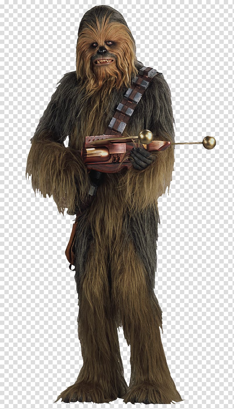 Chewbacca clipart transparent background. Star wars character fur