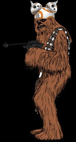 Star wars disney mondo. Chewbacca clipart wookie