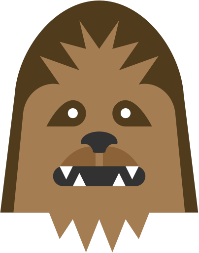 Icon similar. Chewbacca clipart wookie