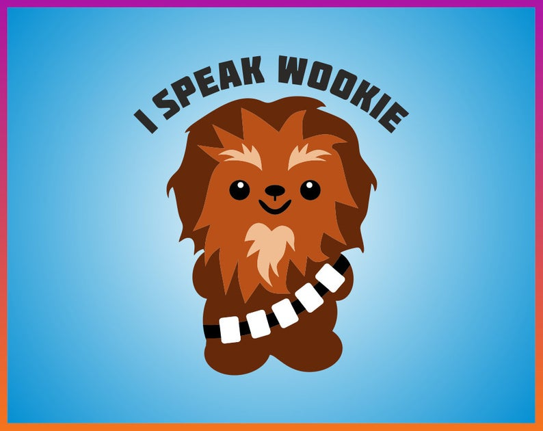 Chewbacca clipart wookie. Download for free png