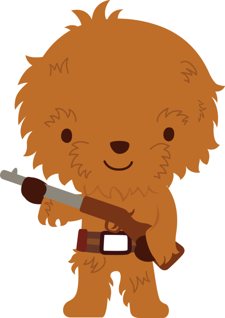 Chewie star wars birthday. Starwars clipart simple