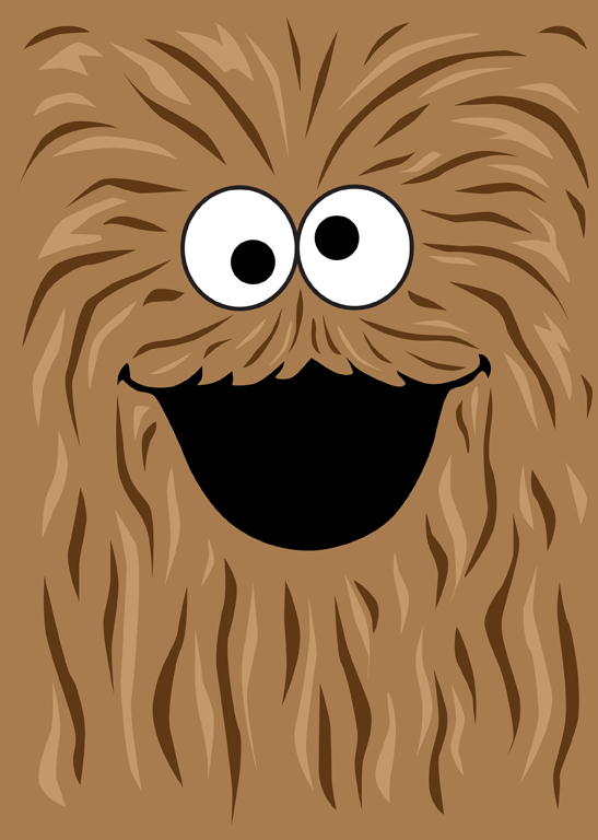 Monster by mattcantdraw on. Chewbacca clipart wookie
