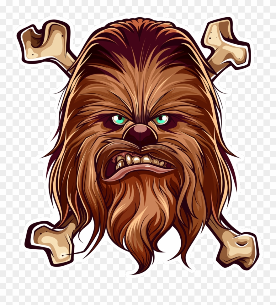 Chewbacca clipart wookie. Star wars png download