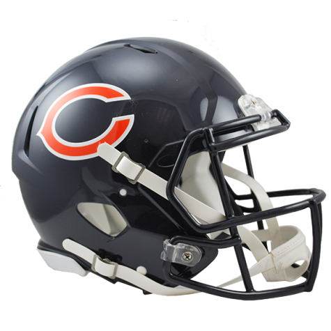 Revolution speed authentic . Chicago bears helmet png