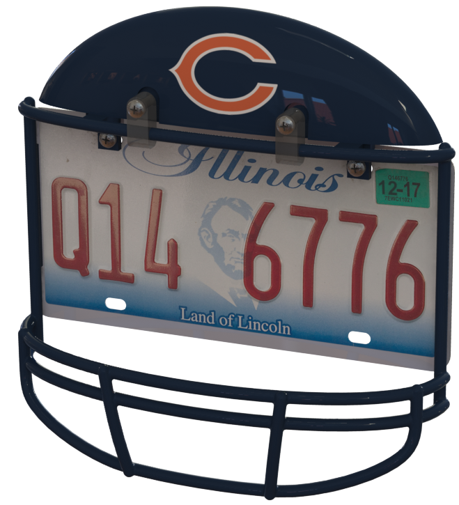 Chicago bears helmet png. Frame your game