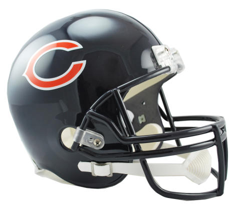 Chicago bears helmet png. Vsr replica nfc north