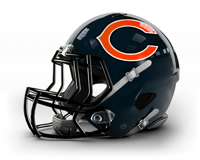 Chicago bears helmet png.