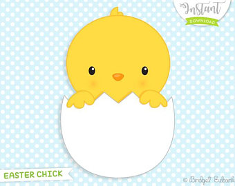Easter etsy cute clip. Chick clipart