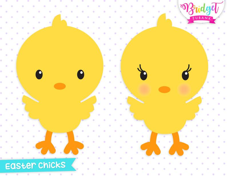 Easter cute chicks commercial. Chick clipart baby chick