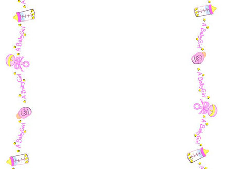Chick clipart border.  baby room download