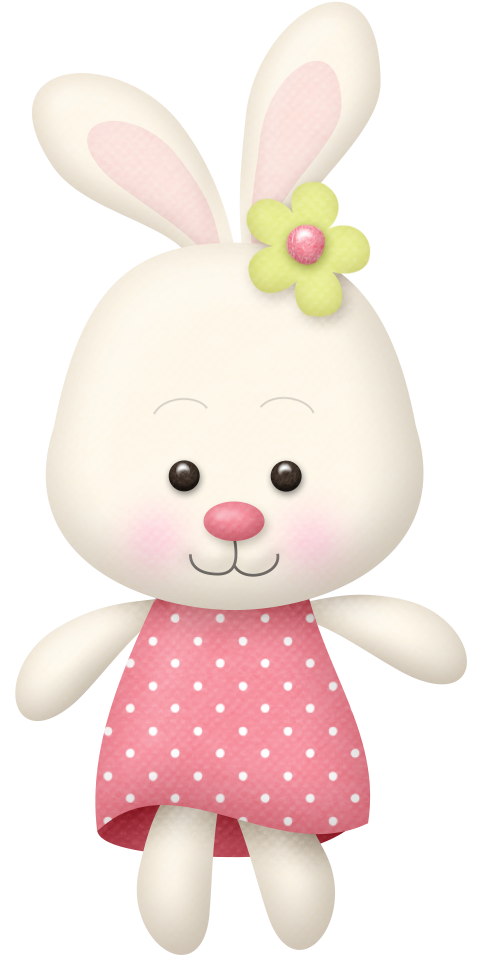 Baby girl babies and. Clipart bunny toy