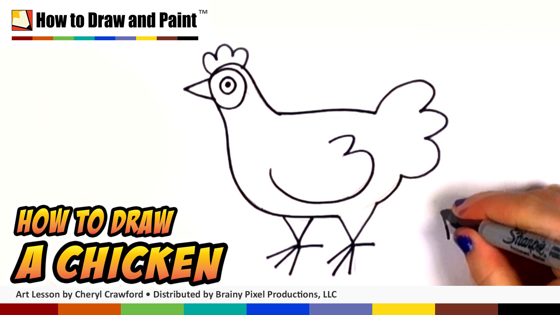 How to draw a. Chick clipart chook