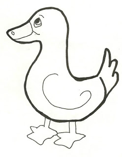 Learn how to draw. Chick clipart duck