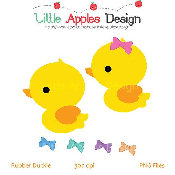 Chick clipart duck. Rubber clip art digital