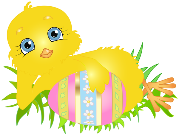 With egg png clip. Chick clipart easter