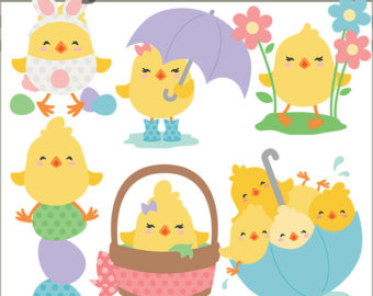 Chick clipart easter. Chicks hatching cute silly