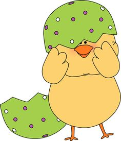 Chicken clipart easter. Cute baby chick printable