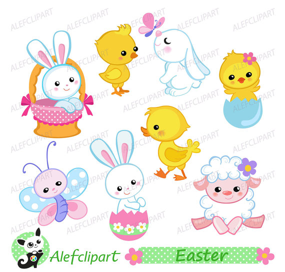 And chicks digital instant. Chick clipart easter bunny