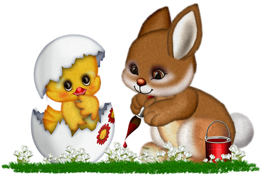 Chick clipart easter bunny. And chicken gallery yopriceville