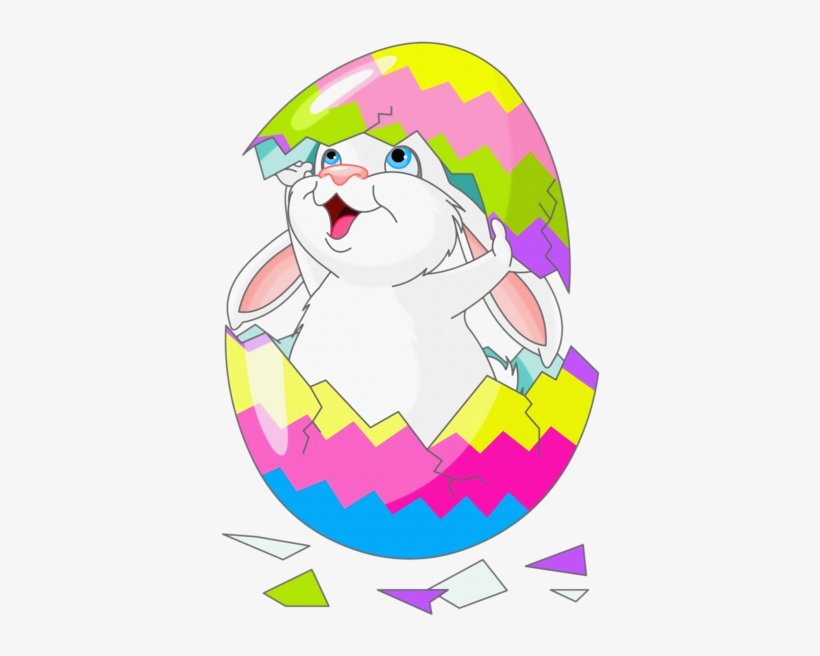 Bunnies and chicks . Chick clipart easter bunny
