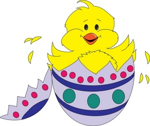 Chick clipart easter egg. Free image clip art