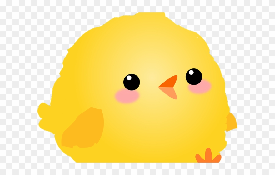 Chick clipart fluffy. Baby chicken cartoon png