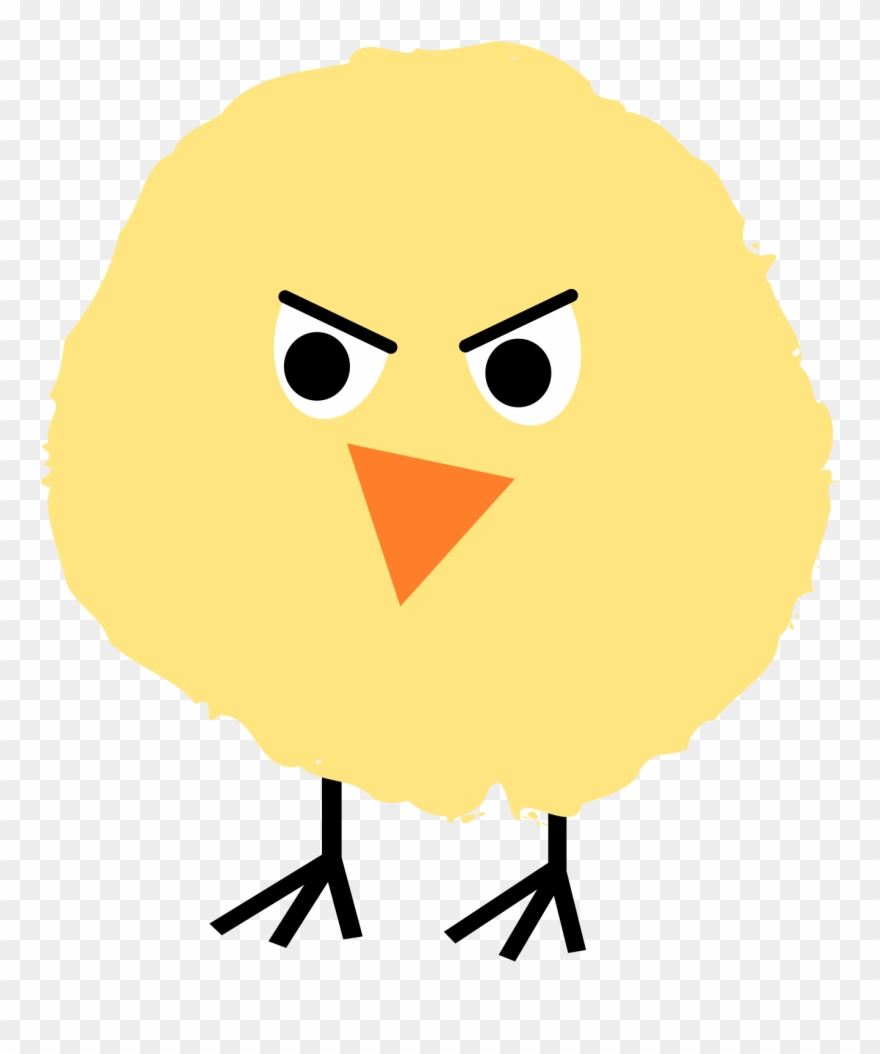 By ejmillan angry on. Chick clipart fluffy