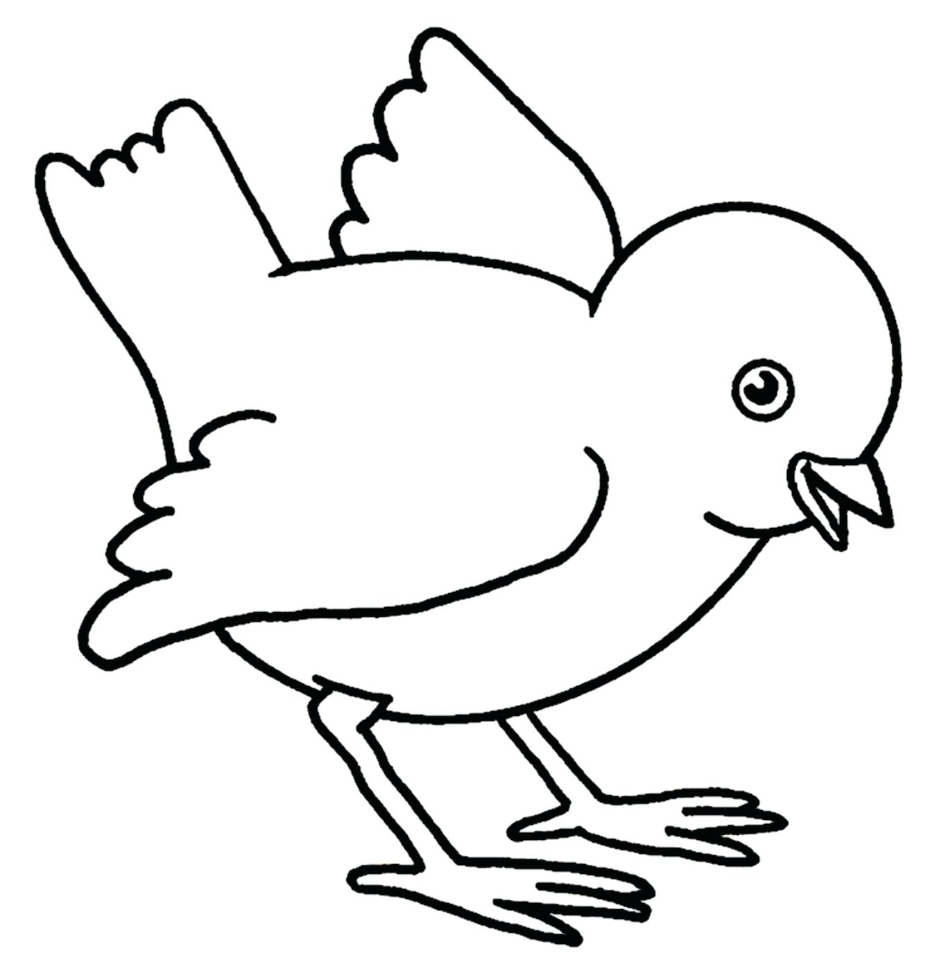 Chick clipart line. Collection of baby free