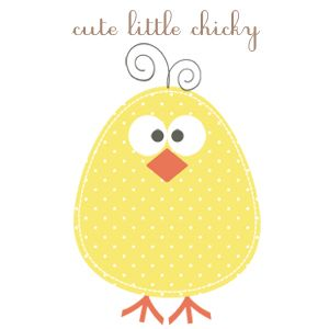 Chick clipart printable.  best baby images