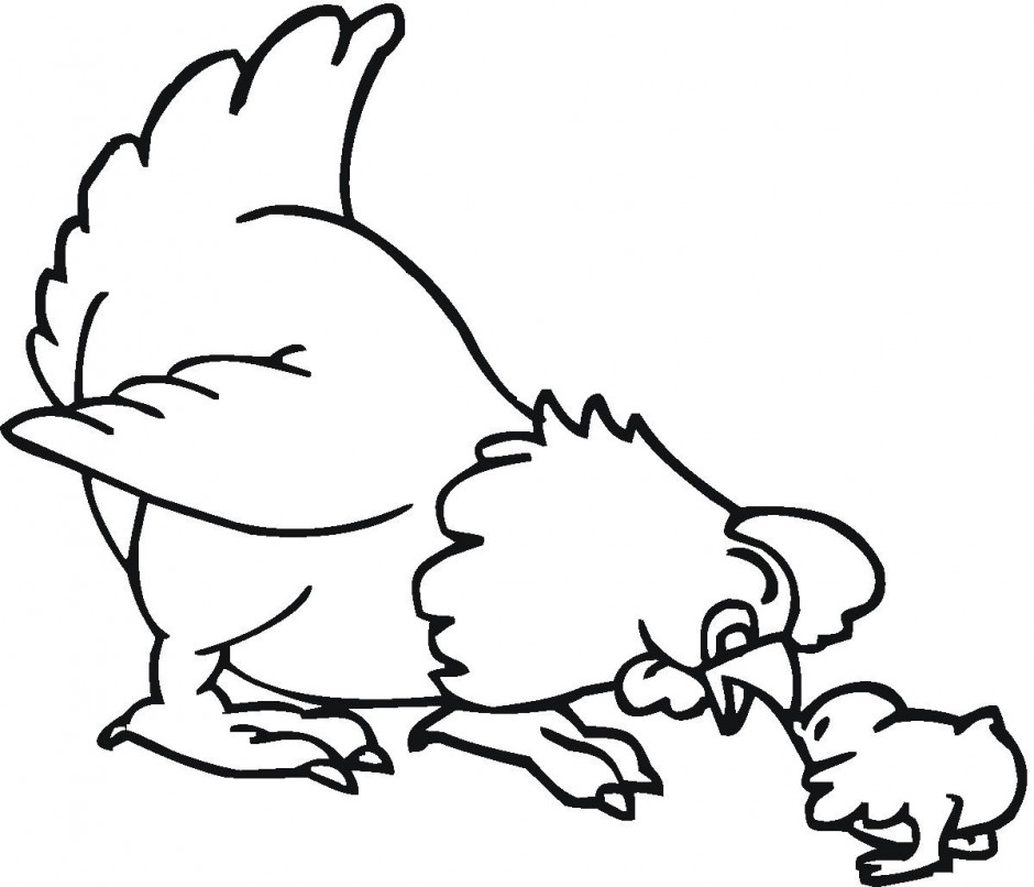 chick clipart printable