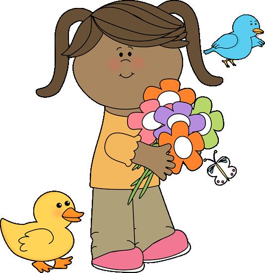 Ducks clipart kid clipart. Cute spring clip art