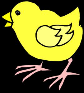 Cartoon baby clip art. Chick clipart vector