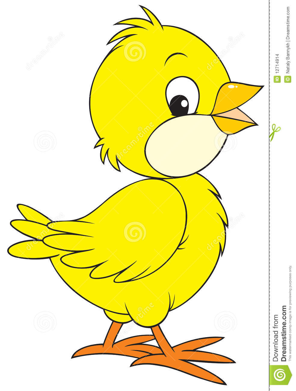 Look at clip art. Chick clipart yellow chick