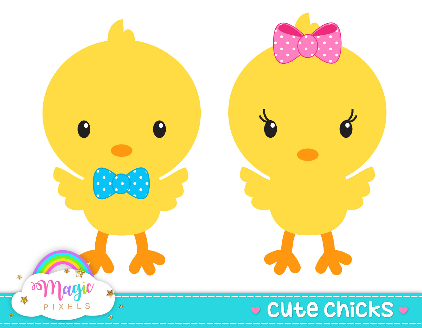 Easter chicks clip art. Chick clipart