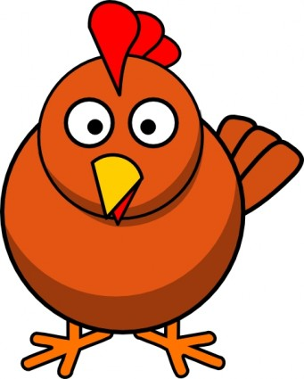 Chick clipart cartoon. Free chicken panda images